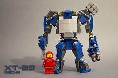 XT-20 mech battle suit (kr1minal) Tags: moc classic space neo lego mech mecha mechwarrior battlesuit