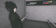 He smiled at me on the subway... (RougeGhost) Tags: