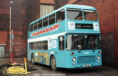 Ribble 2019 850125 Blackburn [jg] (maljoe) Tags: ribble ribblemotorservices rms nationalbuscompany bristol vrt bristolvrt ecw easterncoachworks advertisingbus alloveradvertbus