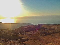 Dead Sea, Jordan (WorldExplorations) Tags: wadiarabah desert sun sunshine sunset mountains hills lake saltlake sea deadsea middleeast jordan jordanriftvalley jordanvalley unesco biospherereserve mujibnaturalreserve