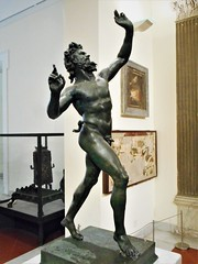 """Dancing Faun"" (1st century BC) - from the house of the Faun in Pompeii - Naples, Archaeological Museum (Carlo Raso) Tags: faun satyr pompeii naples archaeologicalmuseum"