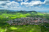 Schwäbische Alb (matthias schroers) Tags: landscape nature outdoor hohen neuffen schwäbische alb vine green hills fresh blue clouds sony alpha 6000 lightroom germany mountain village view sky paraglider glider