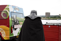 Batman (jamiethompson01) Tags: comic con 2017 london excel dlr movies marvel video games pop culture batman spiderman star wars mcm multigenre fan convention bank holiday street candid martin parr british uk england people event day sony ilce7m2 fe 55mm f18 za