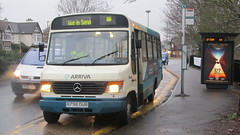1111 R798 DUB (jonathan holmes Fleets) Tags: arriva southern counties mercedes benz o814 plaxton beaver
