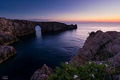 Pont d'Es Gil al capvespre (Jose Txetxu) Tags: pontdengil menorca seascape longexposure sunset dusk