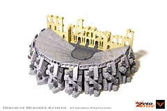 Odeon of Herodes Atticus (ZetoVince) Tags: zeto vince greek greece ancient lego athens acropolis odeon theater theatre herodes atticus