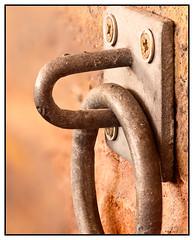 Unhappy face (EddieAC) Tags: macromondays pareidolia wall ring screws bracket