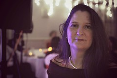 Kate & James's Wedding - 16 Dec 2016 - Low-light - My lovely wife, Lisa (Gareth Wonfor (TempusVolat)) Tags: picmonkey garethwonfor tempusvolat gareth wonfor tempus volat mrmorodo beautiful brunette smart classy gorgeous wedding longhair pretty refined elegant wife woman lover pearls pearlnecklace