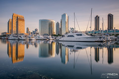 Embarcadero Park - San Diego, CA (JAKE PINEDA) Tags: san diego california embarcadero park nikon d810 nikkor 1424 f28 wide angle hdr sunrise downtown city lee filters big stopper long exposure