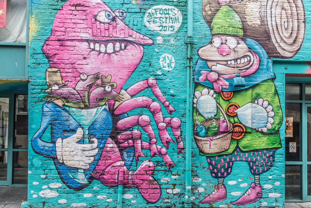 STREET ART AND GRAFFITI IN BELFAST [ANYTHING BUT THE FAMOUS MURALS]-129161