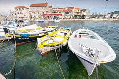 Tribunj (G Dubuc) Tags: croatie mer barques églises ruines