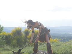 Shooting Skyrim - Ruines d'Allan -2017-06-03- P2090762 (styeb) Tags: shoot shooting skyrim allan ruine village drome montelimar 2017 juin 06 cosplay