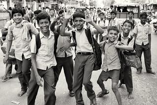 India, boys having fun