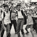 India, boys having fun thumbnail
