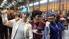 Rick, Robbie and Sportacus (Fablesandzombies) Tags: rick morty cosplay sportacus robbie lazytown