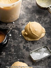 FoMu - Salted Caramel (Bitter-Sweet-) Tags: vegan food sweet dessert icecream frozen fomu boston massachussetts product review scoops pints dairyfree coconut creamy rich decadent premium nondairy glutenfree kosher caramel sugar salted