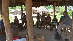 Meeting a women's group