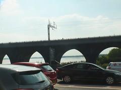 DSCF0663 Rail Viaduct, Runcorn (Anand Leo) Tags: silverjubileebridge runcorn widnes rivermersey