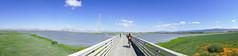 Baylands Nature Preserve, June 2017 #3 (satoshikom) Tags: panasonicdmczs100 panorama paloalto byxbeepark baylandsnaturepreserve shorelinepark sailingpoint cycling weekend