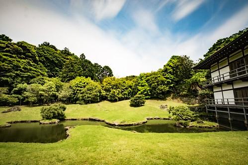 Kenchoji's zen garden in Kamakura