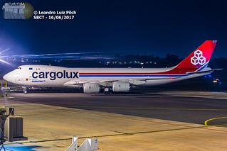 B748 CARGOLUX - LX-VCH - 16-06-17