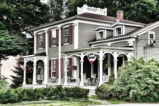Homer New York ~ Federal House Architecture ~ David Harum Mansion ~