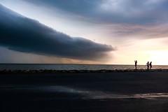 Front Approaching (Cheryl Atkins) Tags: fujixt2 tilghmanisland chesapeakebay maryland weather seascape landscape clouds storm
