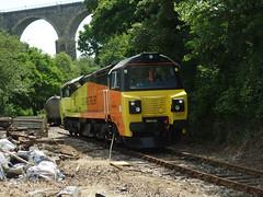 70817 Moorswater (6) (Marky7890) Tags: colasrail 70817 class70 6c35 moorswater liskeard cornwall railway train