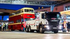 AD4807 w/ EK257 (TommyYeung) Tags: kowloonmotorbus kmb kowloon tsimshatsui starferrypier ad4807 ek257 scania scaniap410 towtruck ontow aec associatedequipmentcompany aecregentv regentv aecmonocontrol baco night nightscenes nightshot hongkong hongkongtransport hongkongbus hongkongbuses classic classicvehicle buses bus doubledecker doubledeck doubledeckbus 2axle nostalgic transport transportphotography vehicle vehiclespotting 169 servicevehicle preserved preservedbus