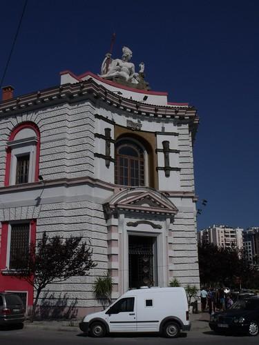 Historic bank building, Durrës, Albania