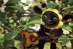 BumbleВee (epic_white) Tags: bumblebee theyuyu other creature handmade garden secretgarden forest forestspirit inmygarden
