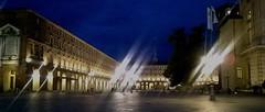 Turin la nuit (SmemorGiò) Tags: italia italie italy torino turin piazzacastello