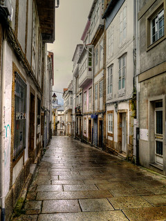 La Coruna Old Town Side Street