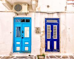Parikia, Paros (Kevin R Thornton) Tags: d90 nikon travel parikia facade greece door mediterranean architecture paros egeo gr