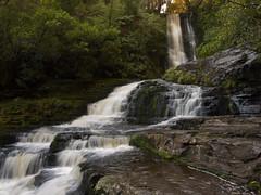 McLean Falls (Sue's/Photos) Tags: waterfall water catlins new zealand south island panasonic dmc fz35