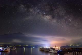 Stunning Night at Sun Moon Lake