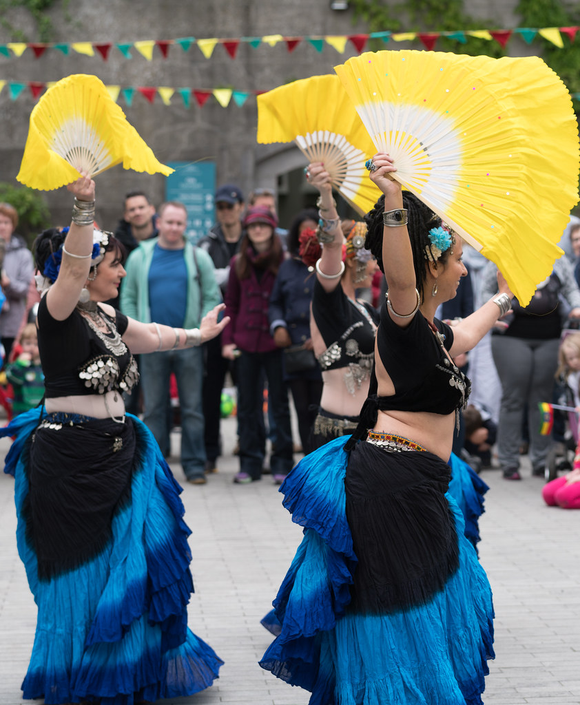 The Zoryanna Dance Troupe Tribal Belly Dancing [Africa Day 2017 Dublin]-129053