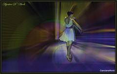 Danza tra luci e colori - Maggio-2017 (agostinodascoli) Tags: art digitalart digitapainting colori fullcolor creative nikon nikkor cianciana sicilia texture ballerina danza photoshop photopainting
