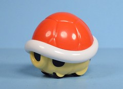 McDonald's Happy Meal Super Mario Red Shell toy (2017) (FranMoff) Tags: car mcdonalds vehicle supermariobros happymealtoys redshell pullback