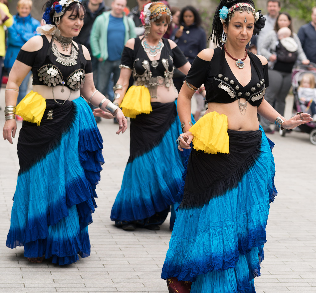 The Zoryanna Dance Troupe Tribal Belly Dancing [Africa Day 2017 Dublin]-129051