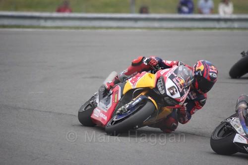 Stefan Bradl in World Superbikes at Donington Park, May 2017