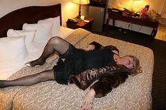new111867-IMG_6244t (Misscherieamor) Tags: transvestite sissy crossdress tgirl transgender travestis travestie travesti tranny tv ts cd tg m2f tgurl gurl mature xdresser feminine transwoman traviesa travestito transformation femme stockingtops vintagefullslip lingerie furcoat
