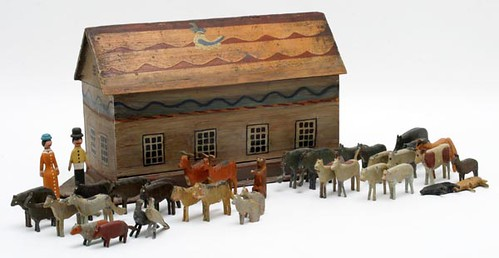 Painted Folky Noah's Ark ($364.00)