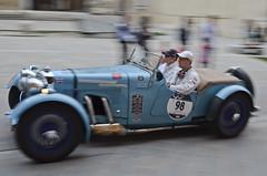 Aston Martin Le Mans (1933) (AleMex66) Tags: 1000 millemiglia rieti brescia historic history legend motorsport motori roma alfaromeo bugatti fiat lemans brianza mm d7000 nikonclub nn nikon astonmartin