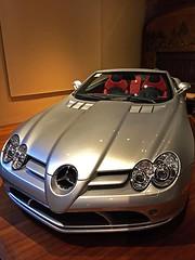 Mercedes-Benz SLR McLaren (AntyDiluvian) Tags: boston massachusetts brookline larzanderson automuseum vintagecars vintageautos vintageautomobiles cadillacday mercedes mercedesbenz slr mcclaren