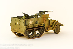 Warlord Games M3A1 Halftrack (GameCraft) Tags: miniature 28mm warlordgames miniatures gamecraftminiaturescom halftrack wargame boltaction 156th gcminicom model m3a1 game wwii gamecraft