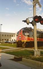 WICT 96A at W. Washington Avenue (AndyWS formerly_WisconsinSkies) Tags: train railroad railway railfan wisconsinandcalumet wisconsinandcalumetrailroad wict emd f7a fp7a f7 funit locomotive