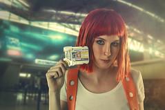 Nacora Cosplay - Leelo (The Fifth Element ) (rubenfcid) Tags: thefifthelement fifthelement leelo multipass orangehair redhair wig cosplay woman girl portrait montage fantasy nacora nacoracosplay cosplayer scifi