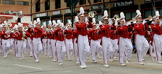The Grove City H.S Marching Band