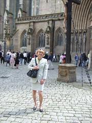 Going to church (Marie-Christine.TV) Tags: church event feminine transvestite lady mariechristine skirtsuit kostüm secretary sekretärin